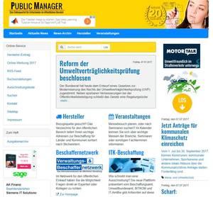 Titel Public Manager