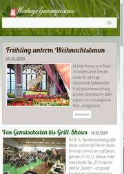 Homepage Hamburger Gartenimpressionen